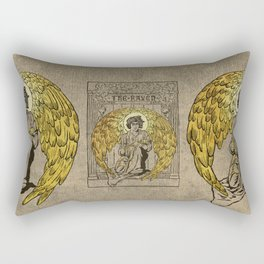 The Raven. 1884 edition cover Rectangular Pillow