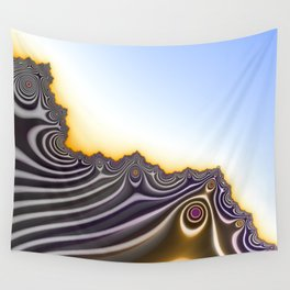 On the Edge of Nothingness Wall Tapestry