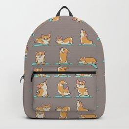 Corgi Yoga Backpack