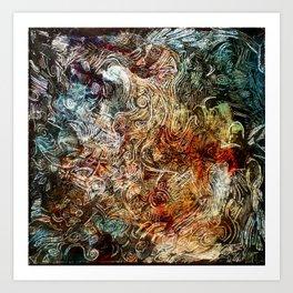 blured glass Art Print