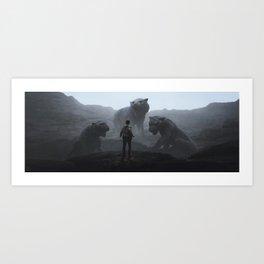 Guardians Art Print