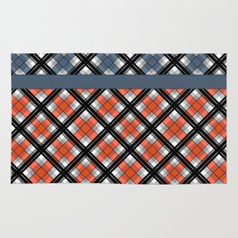 Plaid patchwork 1 Rug