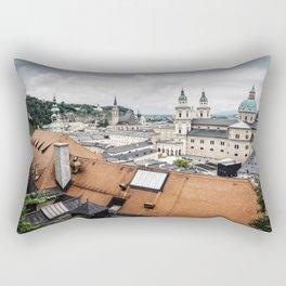 Cityscape of Salzburg, Austria Rectangular Pillow