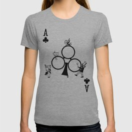 Sawdust Deck: The Ace of Clubs T-shirt