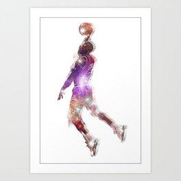 His Airness Art Print