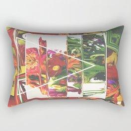 Fake Flowers Rectangular Pillow