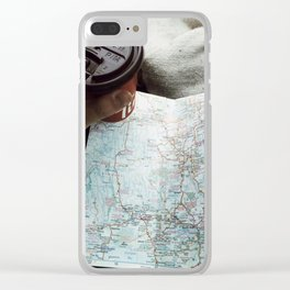 On route to Timmins Clear iPhone Case