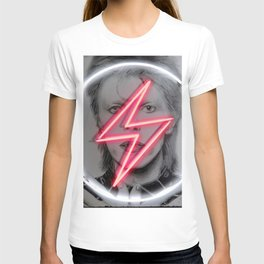 tunder neon bowie T-shirt