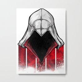 The Assassin Ezio Metal Print