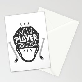 New player in town Stationery Cards