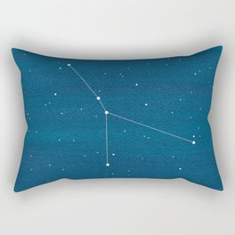 Cancer zodiac constellation Rectangular Pillow