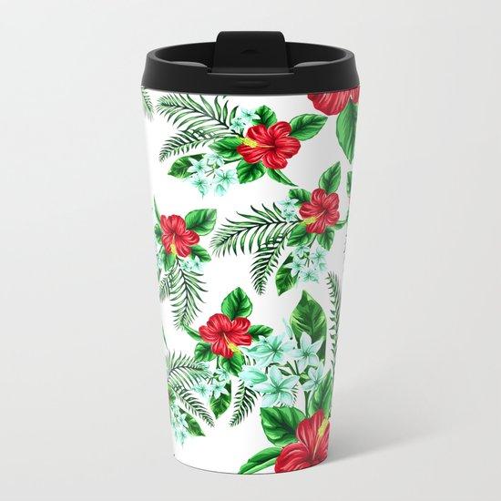 Lily Metal Travel Mug
