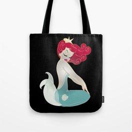 Pin Up Mermaid   Tote Bag