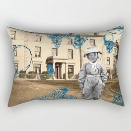 haunted child Rectangular Pillow