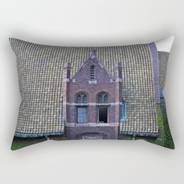 Old West End Mary Manse College Auditorium aka Lois Nelson Theater III Rectangular Pillow