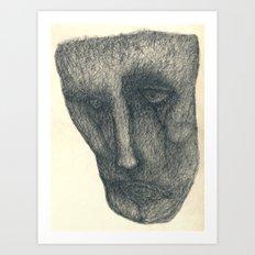 The sad Art Print
