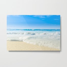 Beach Love Summer Sanctuary Metal Print