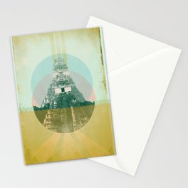 MAYAN TEMPLE Stationery Cards