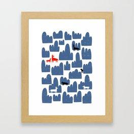 Animal World Framed Art Print