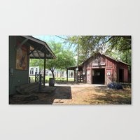 outdoor Canvas Prints featuring Outdoor by L James M Arts