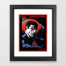 Mr. Sinister Framed Art Print