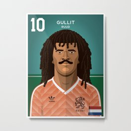 Gullit 1988 Metal Print