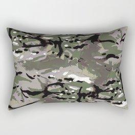 Camo Camo, and the art of disappearing. Rectangular Pillow