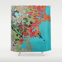 Cypher number 1 Shower Curtain