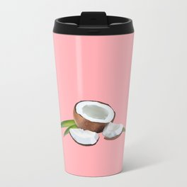 Pink is the new red. Metal Travel Mug