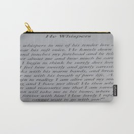 The Beauty of Prayer Carry-All Pouch