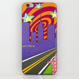 """""""Into the City"""" iPhone Skin"""