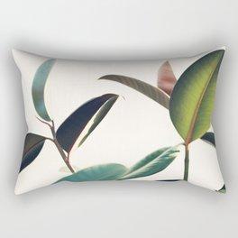 Ficus Elastica #8 Rectangular Pillow