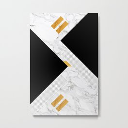 Classical Glorify Metal Print