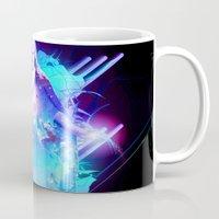 christ Mugs featuring Cosmic Christ by Matt Bryson