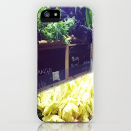 Baby Greens iPhone Case