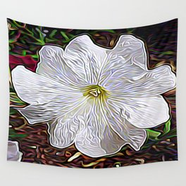 Enchanted Flower Wall Tapestry