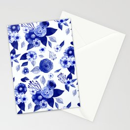 Flowers Print Stationery Cards