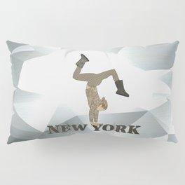Gymnastics New York Pillow Sham