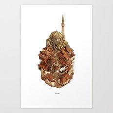 Bascarsija Art Print