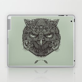 Warrior Owl Face Laptop & iPad Skin