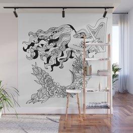 Humanimals: mermaid Wall Mural