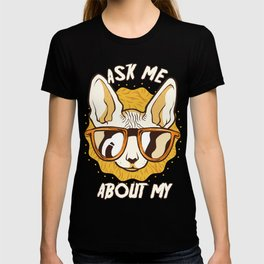 Jungle Animal Lovers Gift Ask Me About My Pets T-shirt