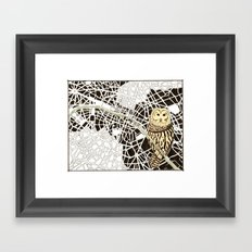 There Is Never Any End Framed Art Print