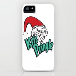 Kris Pringle iPhone Case