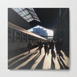 Budapest Train Station Metal Print