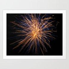 Supernova Art Print