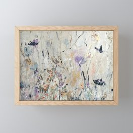 Summer Seeds Framed Mini Art Print