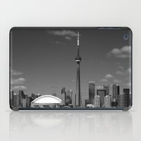 toronto iPad Cases featuring Toronto Skyline by Christophe Chiozzi