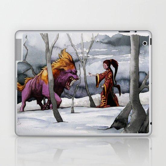 BEAST AND BEAUTIFUL Laptop & iPad Skin