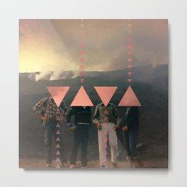 Etnas Smoke 1983 Metal Print